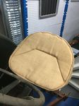 HESSIAN SACK PAN SEAT COVER